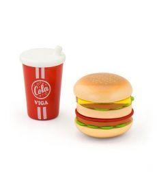 """Игровой набор Viga Toys """"Гамбургер и кола"""" (51602)"""