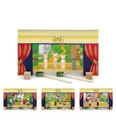"""Игровой набор Viga Toys """"Театр"""" (56005)"""