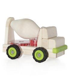Игрушка Guidecraft Block Science Trucks Большая бетономешалка (G7530)
