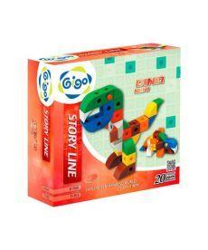 Конструктор Gigo Динозавры - Мини (7420)