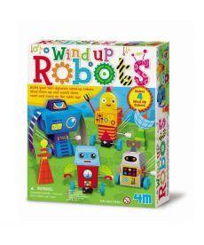 Набор для творчества 4M Заводные роботы (00-04655)