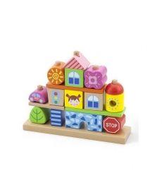 """Набор кубиков Viga Toys """"Город"""" (50043)"""