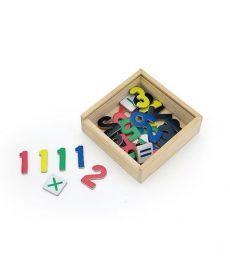 "Набор магнитов Viga Toys ""Цифры"", 37 шт. (50325)"