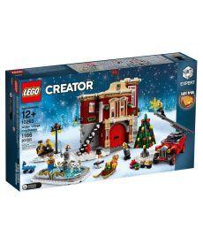 """Конструктор LEGO Master Builder Academy """"Сільське пожежне депо взимку"""""""