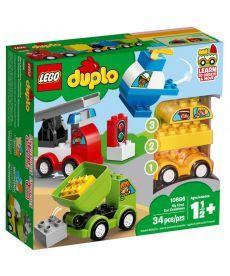 "Конструктор LEGO DUPLO ""Мої перші машини"""