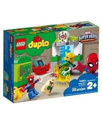 """Конструктор LEGO DUPLO """"Людина-Павук проти Електро"""""""