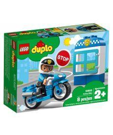 """Конструктор LEGO DUPLO """"Поліцейський мотоцикл"""""""
