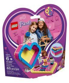 """Конструктор LEGO Friends """"Коробка-серце з Олівією"""""""
