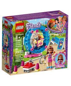 """Конструктор LEGO Friends """"Ігровий майданчик хом'ячка Олівії"""""""