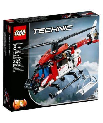 """Конструктор LEGO Технік """"Рятувальний гелікоптер"""""""