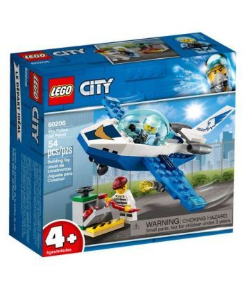 "Конструктор LEGO City ""Повітряна поліція: патрульний літак"""