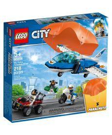 "Конструктор LEGO City ""Повітряна поліція: арешт із парашутом"""