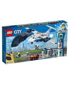 """Конструктор LEGO City """"Повітряна поліція: повітряна база"""""""