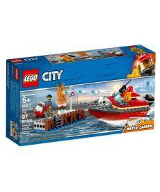 "Конструктор LEGO City ""Пожежа на причалі"""