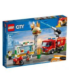 "Конструктор LEGO City ""Пожежа в бургер-барі"""