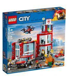 """Конструктор LEGO City """"Пожежне депо"""""""