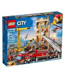 """Конструктор LEGO City """"Міська пожежна бригада"""""""