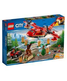 """Конструктор LEGO City """"Пожежний літак"""""""