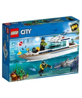 "Конструктор LEGO City ""Яхта для дайвінгу"""