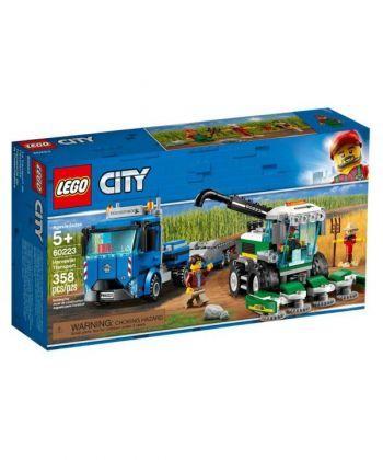 """Конструктор LEGO City """"Кормозбиральний комбайн"""""""