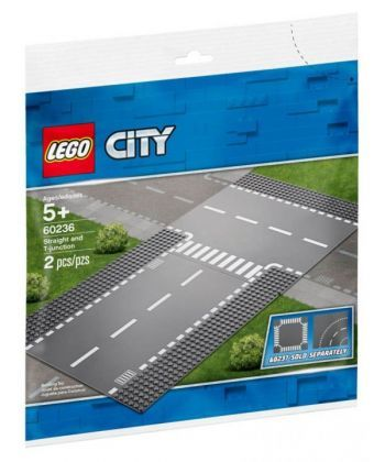 "Конструктор LEGO City ""Бокова і пряма дорога"""