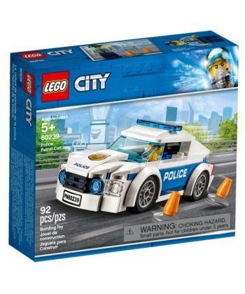 "Конструктор LEGO City ""Поліцейське патрульне авто"""