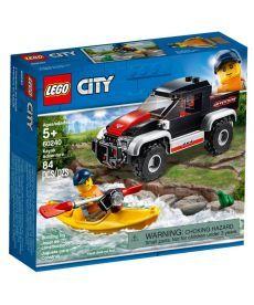 "Конструктор LEGO City ""Пригоди на байдарках"""