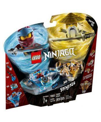 """Конструктор LEGO NINJAGO """"Спін-джитсу Нія та Ву"""""""