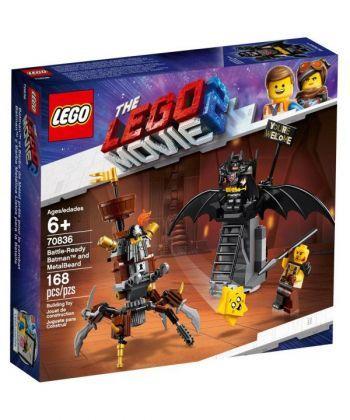 "Конструктор LEGO Фільм ""Бетмен і Залізна Борода: До бою готові"""