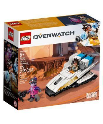 """Конструктор LEGO Overwatch """"Трейсер проти Фатальної вдови"""""""