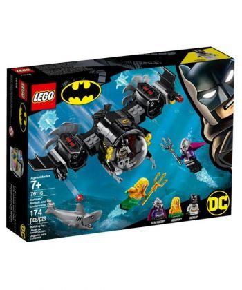 """Конструктор LEGO Super Heroes """"Бетсубмарина Бетмена і підводний бій"""""""