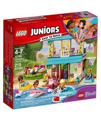 """Конструктор LEGO Джуніорс """"Будиночок Стефані біля озера"""""""