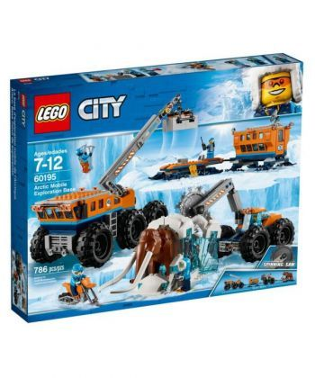 """Конструктор LEGO City """"Арктика: пересувна науково-дослідна станція"""""""