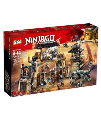 """Конструктор LEGO NINJAGO """"Драконяче провалля"""""""