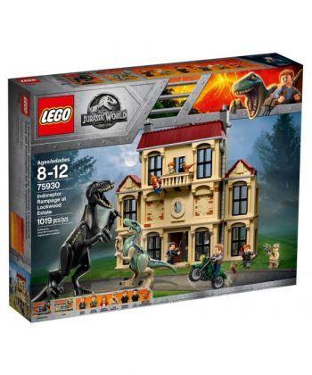 """Конструктор LEGO Jurassic World """"Лють індораптора у Локвуд-Істейт"""""""