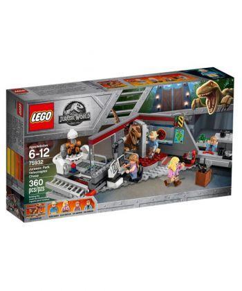 """Конструктор LEGO Jurassic World """"Парк Юрського періоду: переслідування раптора"""""""