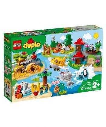 """Конструктор LEGO DUPLO """"Тварини світу"""""""