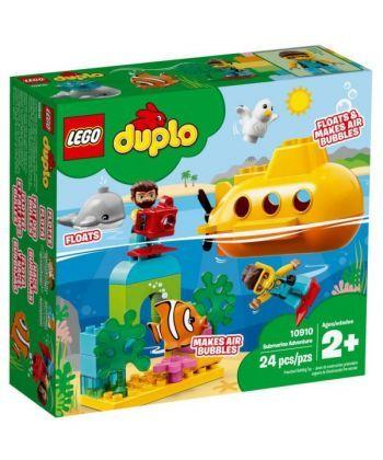 """Конструктор LEGO DUPLO """"Пригоди на підводному човні"""""""