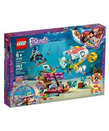 "Конструктор LEGO Friends ""Місія з порятунку дельфінів"""