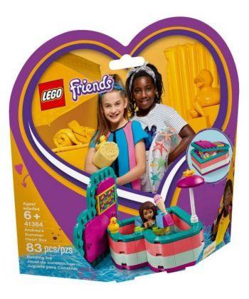 """Конструктор LEGO Friends """"Коробка-серце: літо з Андреа"""""""