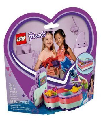 """Конструктор LEGO Friends """"Коробка-серце: літо з Еммою"""""""