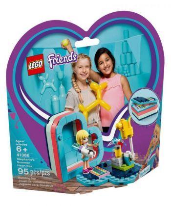 """Конструктор LEGO Friends """"Коробка-серце: літо зі Стефані"""""""