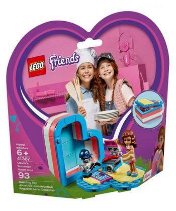 """Конструктор LEGO Friends """"Коробка-серце: літо з Олівією"""""""