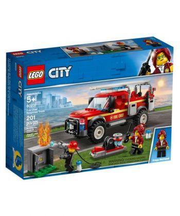 """Конструктор LEGO City """"Вантажівка начальниці пожежної частини"""""""