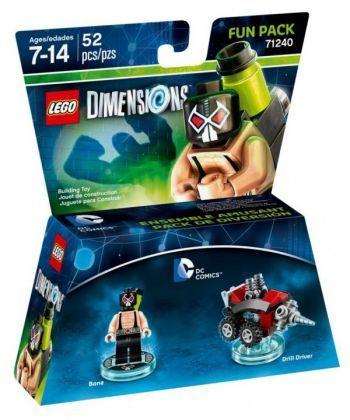 Конструктор LEGO Dimensions Фан-пак: Бейн