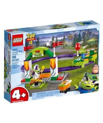 """Конструктор LEGO Toy Story 4 """"Карнавальные американские горки"""""""