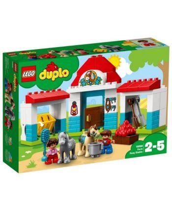 """Конструктор LEGO """"Стайня поні на фермі"""""""