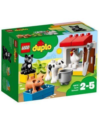 """Конструктор LEGO """"Тварини на фермі"""""""