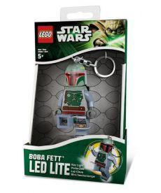 """Лего брелок-ліхтарик """"Boba Fett"""" з батарейкою"""