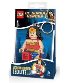 """Брелок-ліхтарик Лего Супергерої """"Чудо-жінка"""""""